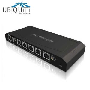 TS-5-POE Gigabit Switching Hub UBIQUITI 5 Port with PoE 24V Passive