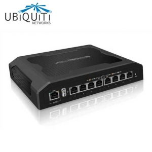 TS-8-PRO Gigabit Switching Hub UBIQUITI 8 Port with PoE 24/48V Passive