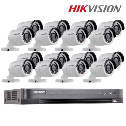HIVISION HD-TVI 2MP SET 16